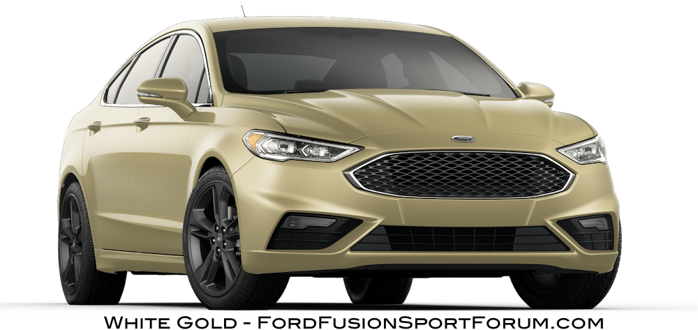 2017 ford fusion sport white gold fusion gallery blue oval forums. Black Bedroom Furniture Sets. Home Design Ideas