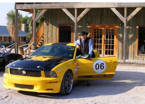 Shelby Terlingua with Carroll Shelby